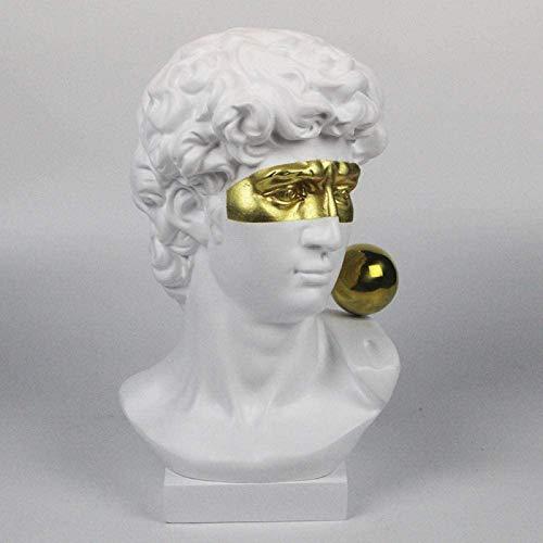 aipipl Coleccin Figuras Figuras Escultura Decoracin Resina Personaje Sala de Estar Arte del hogar Decoracin de Escritorio Estatua