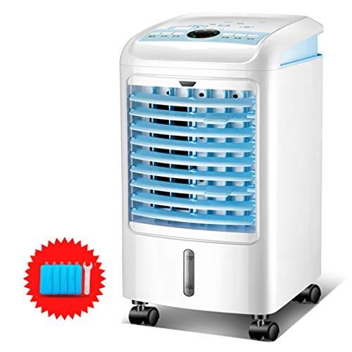 JCJ-Shop Persönlicher Luftkühler, 4-in-1-Luftkühler mit Befeuchtungs- und Luftreinigungsfunktion, 75 W, 4-Liter-Wassertank, Klimaanlage mit Fernbedienung