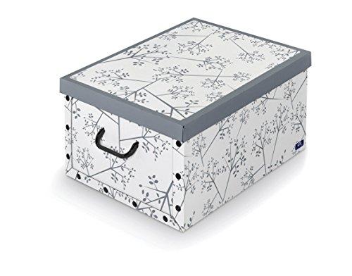 Domopak Living Scatola in Cartone, Bianco, 39x50x24 cm