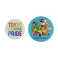 東京レインボープライド TRP公式グッズ 缶バッジセット (Tokyo Rainbow Pride)