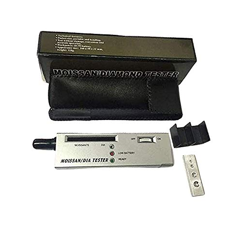 Vokaer Diamant-Tester/MOISSAN/Dia Tester Gems LED-Anzeige/Wärmeleitfähigkeitsmessgerät/Härteprüfer/Diamant-Smaragd Crystal Jade Saphir Schmuck