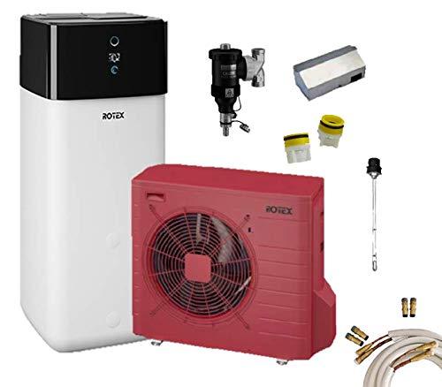 Rotex Luft-Wasser-Wärmepumpen Set* HPSU compact Ultra 508 Biv 8 kW