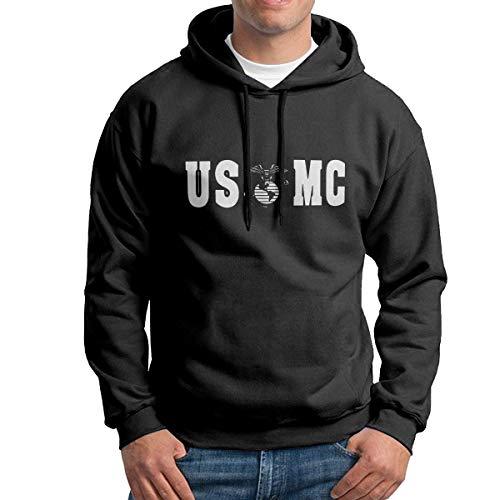 Jeffhd_tee Eagle Globe Anchor USMC Men's Sweatshirt Pullover Hoodie