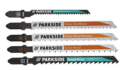Verschillende decoupeerzaagbladen voor hout, metaal, aluminium, kunststof.