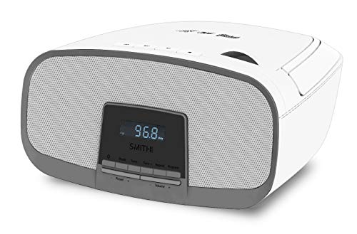 Smith-Style Boombox Bluetooth CD Player MP3 Player FM...