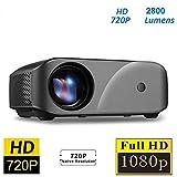 VIVICINE F10 Projector 720P HD Home Theater Projector 2800 Lumens High Brightness hd