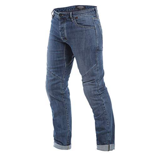 Dainese Motorrad Jeans Motorradhose Motorradjeans Tivoli Regular Jeans blau 43, Herren, Chopper/Cruiser, Ganzjährig, Textil