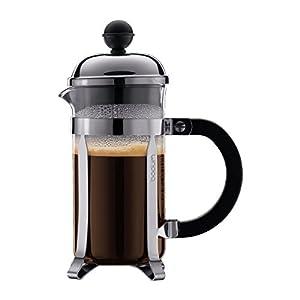 BODUM ボダム CHAMBORD シャンボール フレンチプレス コーヒーメーカー 350ml シルバー 【正規品】 1923-16J