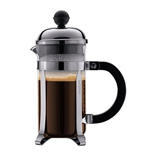 Bodum Chambord French Press 3 Cups 0.35 L Cafetera émbolo, Vidrio, plástico, Acero, Centimeters