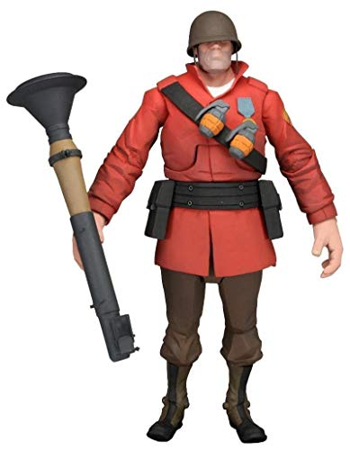 """NECA Team Fortress 2 The Soldier Action Figure, 7"""""""