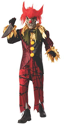 Rubie's Opus Collection Creepy Circus Men's Crazy Clown Costume, As Shown, XL