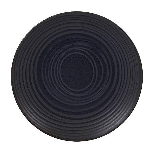 Table Passion - Assiette à dessert 21 cm moon noir (lot de 6)