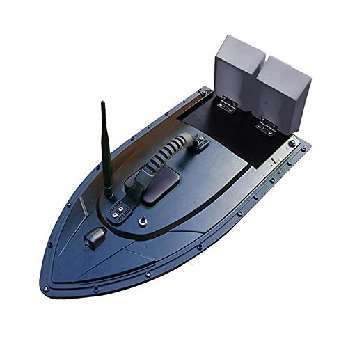 WWSHIP Fish Finder 1.5Kg Loading 500M Remote Control Fishing Bait Boat RC Boat Intelligent Bait Ship Double-Layer Warehouse Nesting