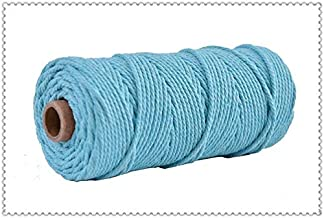100% Katoenen Koord Kleurrijke Koord Touw Beige Twisted Craft Macrame String Diy Thuis Textiel Bruiloft Decoratieve Leveri...