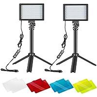 2-Packs Neewer Portable Photography Lighting Kit