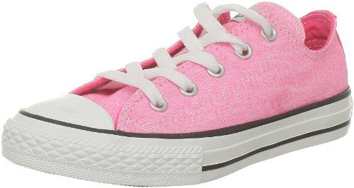 Converse CT Wash Neon Ox 288300-31-13 - Zapatillas de Tela para niños, Color Rosa, Talla 32