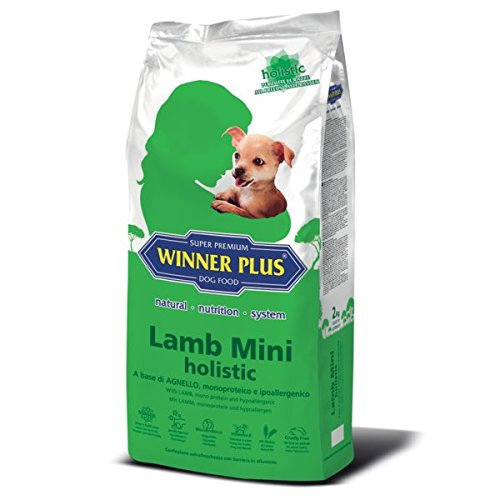 WINNER PLUS Lamb Mini holistic 10 kg - A base di agnello, monoproteico e ipoallergenico