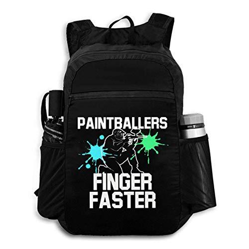 Faltbarer Rucksack für Reisen, Paintballer, Finger, tragbar, Aufbewahrungstasche, Wandern, Freizeit