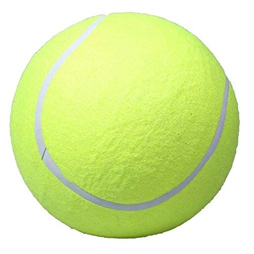 Kicode Haustier kaut Spielzeug Fun Outdoor Supplies Hunde Spielen Spielzeug Tennis Ball Giant 9,5