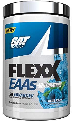 'FLEXX EAA'S + Hydration Advanced Essential Amino Acids Blue Razz (12.69 oz. / 30 Servings)