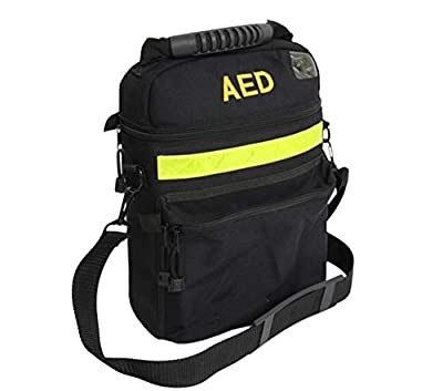 Jipemtra Emergency AED Bag First Aid Bag Medical First Aid Bag Only Rescue AED Bag First Responder Bag Empty by Jipemtra