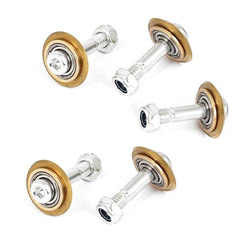 YeVhear 22 mm de diámetro manual rodamiento giratorio azulejos de cerámica corte rueda cortador 5 piezas