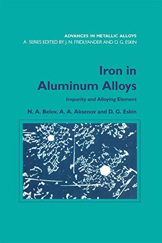 Iron in Aluminium Alloys: Impurity and Alloying Element (Advances in Metallic Alloys Book 2) (English Edition)