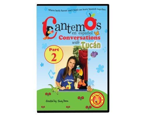 Cantemos en Español Conversations with Tucán Part 2 DVD