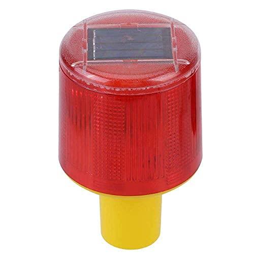 qinjun Solar-LED-Warnlicht, Stroboskop-Sicherheitslicht, Alarm, wasserdicht, korrosionsbeständig, automatisches Einschalten, für Hof, Scheune, Outdoor, Straße, Boot usw.
