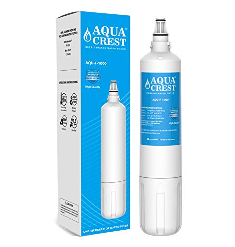 AQUA CREST 4204490 Refrigerator Water Filter, Compatible with Sub Zero 4204490, 4290510(Packaging May Vary)