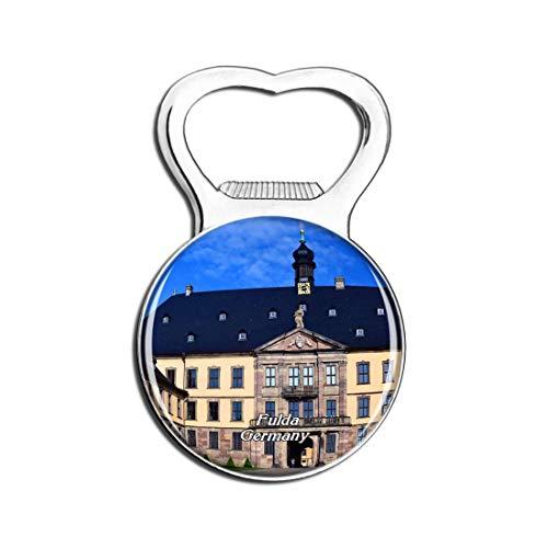 Weekino Schloss Fulda Deutschland Bier Flaschenöffner Kühlschrank Magnet Metall Souvenir Reise Gift