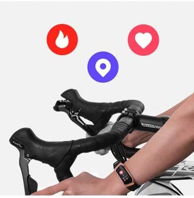 blood pressure measurement sports pedometer heart rate measurement Roneberg RE18 Waterproof fitness tracker smart band designed in the spirit of modernity and minimalism