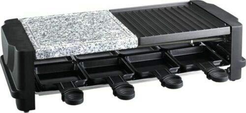 3in1 Raclette Grill Tischgrill Party Barbecue mit heißem Stein,1200Watt