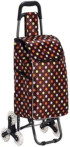 Eortzzpc Handwagen Leichte und Starke Trendige Shopping-Trolley-Klapptow Away Design Festival Einkaufstasche Multifunktional (Größe: 34x22x93cm),Trolley Cart für Multi-Use (Size : 34x22x93cm)