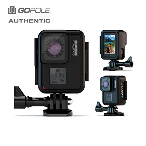 GoPole Gpvf-44 Vertical Frame - 90° Low Profile Mounting Frame for GoPro Hero 7/6/5