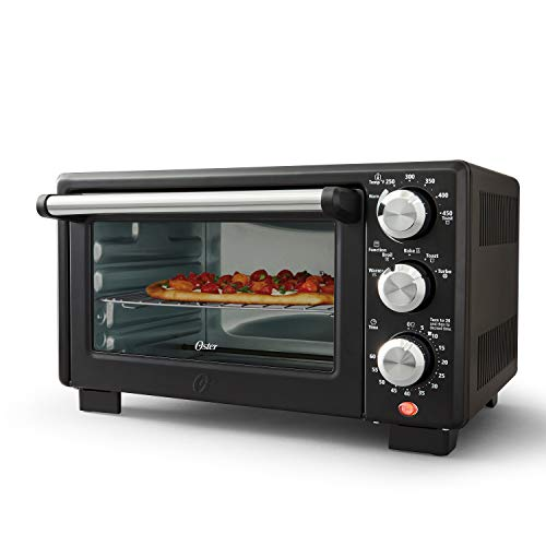 Convection 4-Slice Toaster Oven, Matte Black, Convection Oven and Countertop Oven