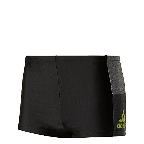 adidas, Herren Infinity Colourblock Badeshorts, Mehrfarbig (Black/Sesoye), 5