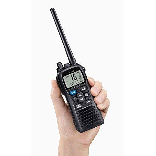 Icom-Radio portátil VHF IC-M73 Euro
