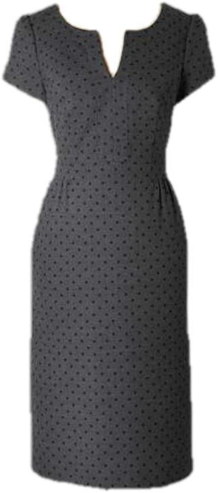 BODEN Polka DOT Wool Tulip Dress WQ066 Size US 4