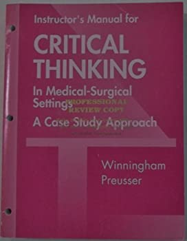 Paperback Critical Thinking IM Book