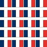 GreenIT 20 Stück 2cm Frankreich Flagge Fahne RC Modellbau Mini Aufkleber Sticker Modellbauaufkleber