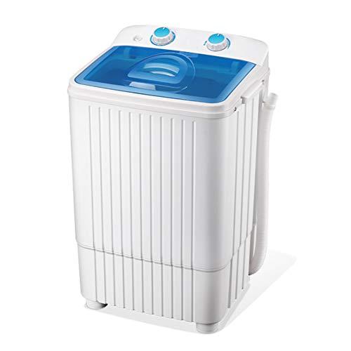MOUTALE Mini Lavadora PortáTil Compacta 2 En 1 Y CombinacióN De Secadora Rotativa, Capacidad De Secado De 4.5 Kg Y 2 Kg De Capacidad, Apartamentos Compartidos Familiares para Acampar (Azul, Rojo)