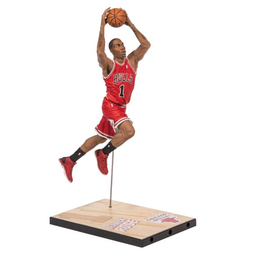 McFARLANE SPORTSPICKS NBA SERIES McFARLANE SPORTSPICKS NBA SERIES 23 DERRICK ROSE CHICAGO BULLS FIGURE FIGURE