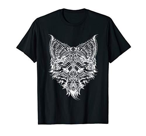 Fuchs Tier Shirt für Tier- & Naturliebe | Männer Damen Kids