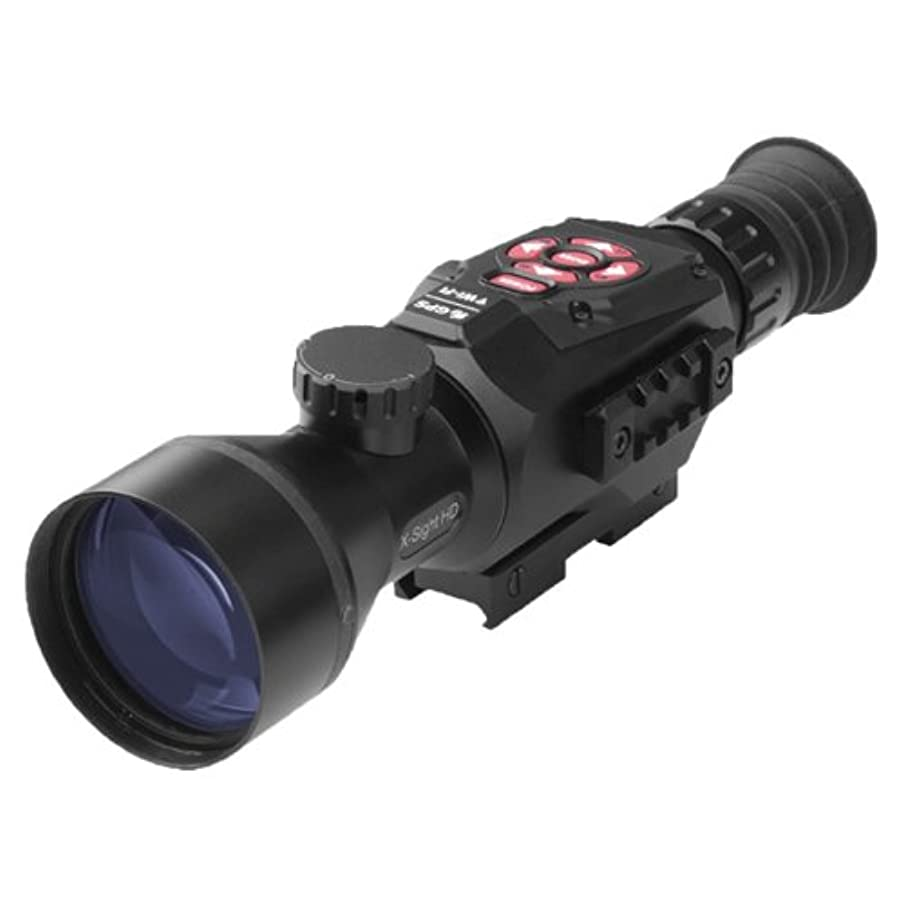 ATN X-Sight II HD 5-20 Smart Day/Night Rifle Scope w/1080p Video, Ballistic Calculator, Rangefinder, WiFi, E-Compass, GPS, Barometer, IOS & Android Apps s9475520627