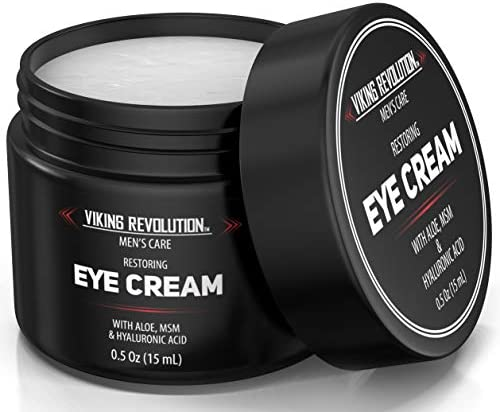 Natural Eye Cream for Men Mens Eye Cream for Anti Aging Dark Circle Under Eye Treatment Men product image