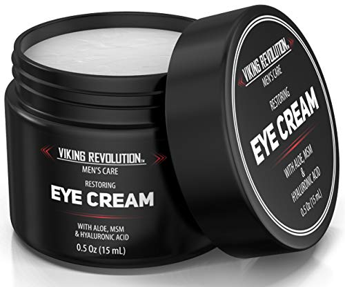 Natural Eye Cream for Men - Mens Eye Cream for Anti Aging, Dark Circle Under Eye Treatment.- Men's Eye Moisturizer Wrinkle Cream - Helps Reduce Puffiness, Under Eye Bags and Crowsfeet