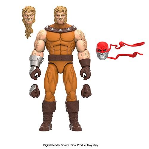 Marvel Hasbro Legends Series - Figura de Sabretooth de 15 cm - con diseño Premium, 3 Accesorios y 1 Pieza de Figura para armar