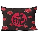 Anime Naruto Style Akatsuki - Funda de almohada decorativa, diseño de nubes con texto en inglés 'N1-20X30'