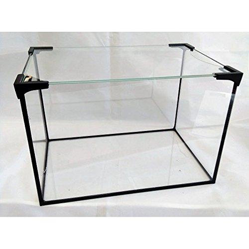 Wirbellosenzucht-Foltis Aquarium Becken inkl. Glas Abdeckung; Glasbecken rechteckig,Glasbecken Glas Aquarienbecken (30x20x20)